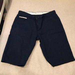 Men's Navy Blue Van's Short